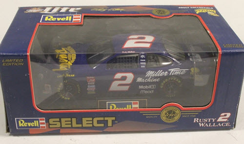 1998 Rusty Wallace NASCAR Diecast 2 Adventures of Rusty CWC 1:24 Revell Select 1