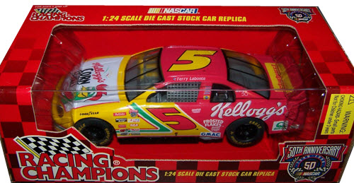 1998 Terry Labonte NASCAR Diecast 5 Kelloggs Corn Flakes CWC 1:24 Racing Champions 1