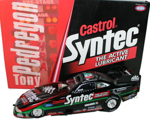 1998 Tony Pedregon NHRA Diecast Castrol Syntec Funny Car 1:24 Action RCCA 1