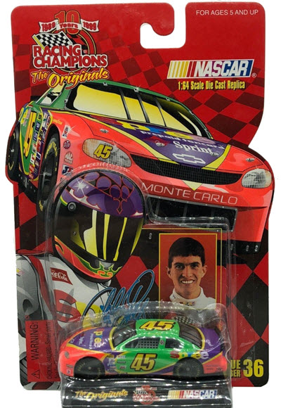 1999 Adam Petty NASCAR Diecast 45 Spree CWC 1:64 Racing Champions Originals 1