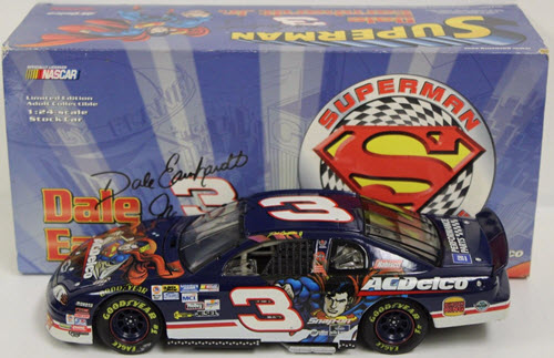 1999 Dale Earnhardt Jr NASCAR Diecast 3 AC Delco ACDelco Superman CWC 1:24 Action ARC 1