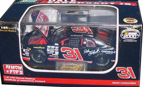 1999 Dale Earnhardt Jr NASCAR Diecast 31 Mom N Pops Prime Serloin 1996 CWC 1:64 Revell Collection 1