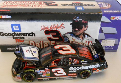 1999 Dale Earnhardt Sr NASCAR Diecast 3 GMGW GM Goodwrench White Sign CWC 1:24 Action ARC 1