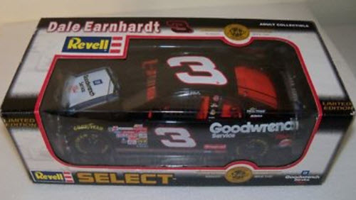 1999 Dale Earnhardt Sr NASCAR Diecast 3 GMGW GM Goodwrench White Sign CWC 1:24 Revell Select 1