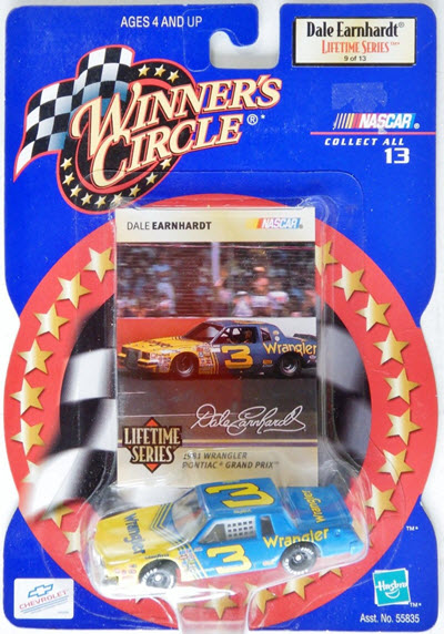 1999 Dale Earnhardt Sr NASCAR Diecast LTS 9 of 13 Wrangler 1981 CWC 1:64 Winners Circle 1