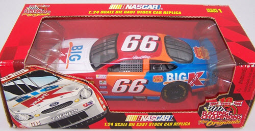 1999 Darrell Waltrip NASCAR Diecast 66 Big K Mart K Mart CWC 1:24 Racing Champions Issue 1 Originals 1