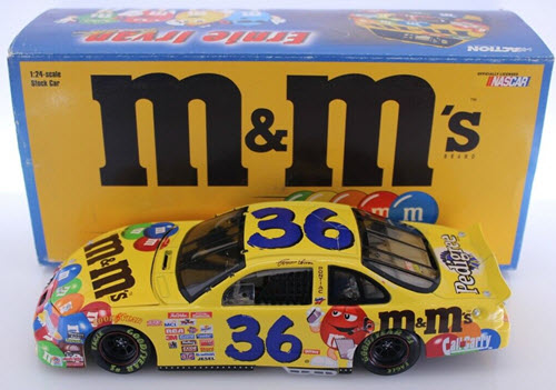 Revell Collection Ernie Irvan 1:18 Scale M/&M Collectible Car