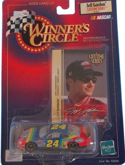 1999 Jeff Gordon NASCAR Diecast 24 DuPont CWC 1:64 Winners Circle 1995 Champion LTS 1