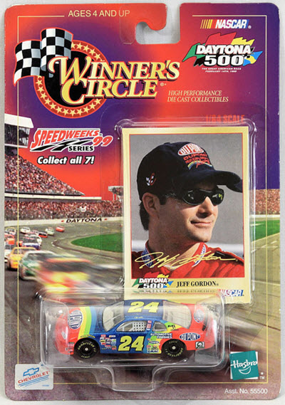 1999 Jeff Gordon NASCAR Diecast 24 DuPont CWC 1:64 Winners Circle Daytona Speedweeks 1