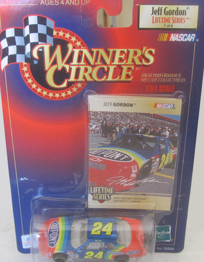 1999 Jeff Gordon NASCAR Diecast 24 DuPont CWC 1:64 Winners Circle LTS 7 of 8 First Start 1