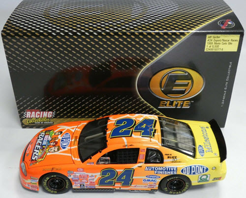 1999 Jeff Gordon NASCAR Diecast 24 NASCAR Racers CWC 1:24 Action RCCA Elite 1