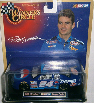 1999 Jeff Gordon NASCAR Diecast 24 Pepsi CWC 1:43 Winners Circle 1