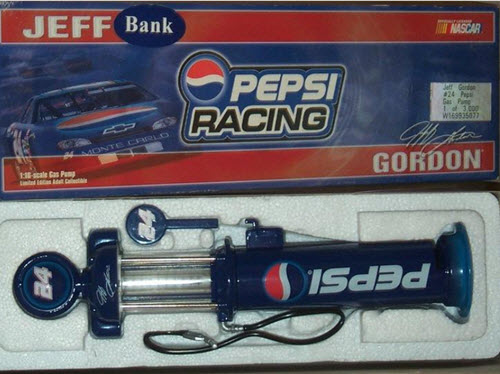 1999 Jeff Gordon NASCAR Diecast 24 Pepsi Gas Pump 1:16 Action ARC 1