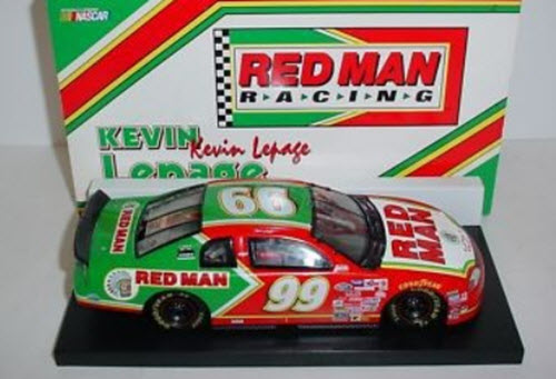 1999 Kevin LePage NASCAR Diecast 99 Red Man Tobacco CWB Bank 1:24 Action RCCA 2