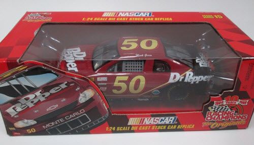 1999 Mark Green NASCAR Diecast 50 Dr Pepper CWC 1:24 Racing Champions Originals Issue 15 1