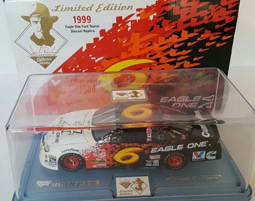 1999 Mark Martin NASCAR Diecast 6 Eagle One CWC 1:24 Team Caliber Owners 1