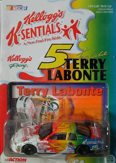 1999 Terry Labonte NASCAR Diecast 5 K Sentials K Sentials CWC 1:64 Action ARC 1