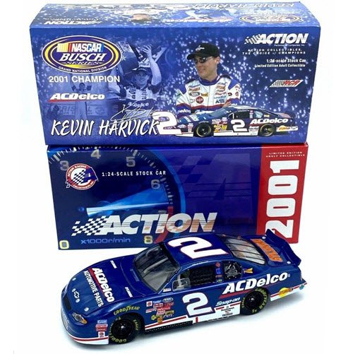 2 Kevin Harvick Diecast 2001 ACDelco AC Delco Busch Champ Champion CWC 1:24 Lionel Action ARC 1