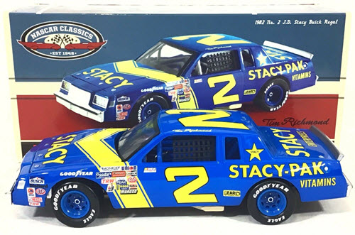 2 Tim Richmond Diecast 1982 Stacy Pak 2012 CWC 1:24 Action ARC 1