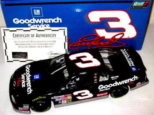 2000 Dale Earnhardt Sr NASCAR Diecast 3 GMGW GM Goodwrench CWC 1:18 Revell Collection 1