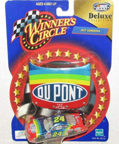 2000 Jeff Gordon NASCAR Diecast 24 DuPont CWC 1:64 Winners Circle Deluxe Collection Corian 1