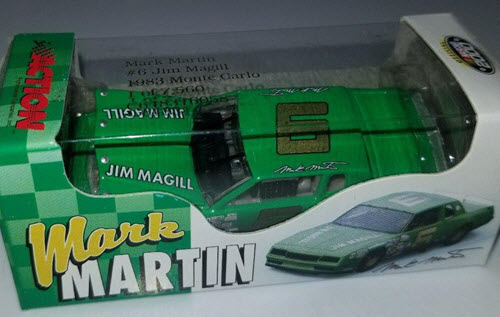 2000 Mark Martin NASCAR Diecast 6 Jim Magil Magill Green 1983 CWC 1:64 Action RCCA 1