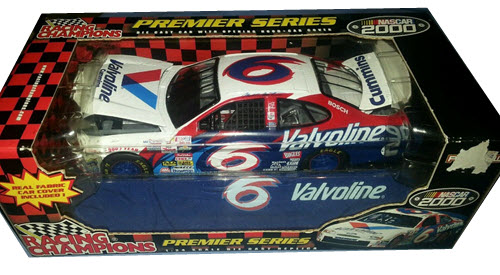 2000 Mark Martin NASCAR Diecast 6 Valvoline CWC 1:24 Racing Champions Premier Preview 1