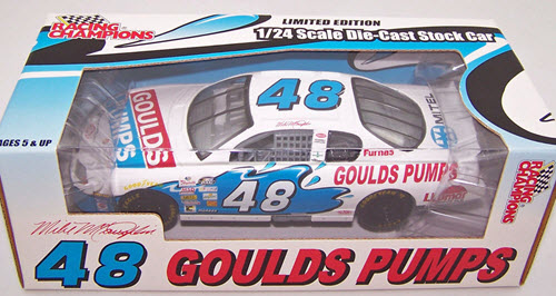 2000 Mike McLaughlin NASCAR Diecast 48 Goulds Pumps CWC 1:24 Racing Champions 1