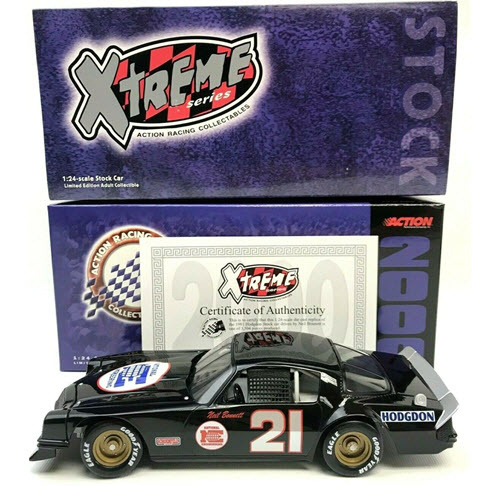 2000 Neil Bonnett NASCAR Diecast 21 National Engineering 1981 Camaro CWC 1:24 Action ARC 1