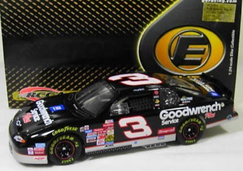 2001 Dale Earnhardt Sr NASCAR Diecast 3 GMGW GM Goodwrench CWC 1:24 Action RCCA Elite 1