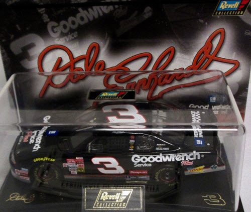 2001 Dale Earnhardt Sr NASCAR Diecast 3 GMGW GM Goodwrench CWC 1:24 Revell Collection 1