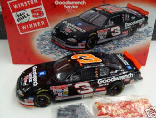 2001 Dale Earnhardt Sr NASCAR Diecast 3 GMGW GM Goodwrench Dega Talladega 76th Win Raced Version CWB Bank 1:24 Revell Collection 1