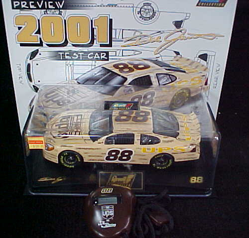 2001 Dale Jarrett NASCAR Diecast 88 UPS Test Car CWC 1:24 Revell Collection 1