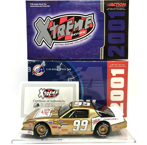 2001 Dick Trickle NASCAR Diecast 99 Miller High Life 1989 CWC 1:24 Action ARC Xtreme 1