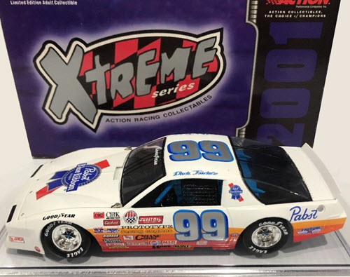 2001 Dick Trickle NASCAR Diecast 99 Pabst CWC 1:24 Action ARC Xtreme 1
