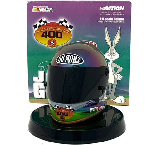 2001 Jeff Gordon NASCAR Diecast 24 Looney Tunes Bugs Bunny Helmet 14 Action ARC 1