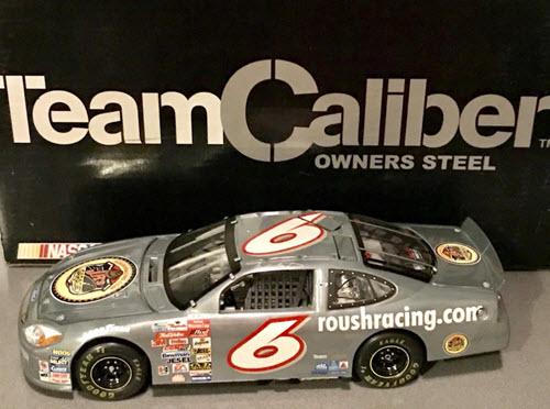 2001 Mark Martin NASCAR Diecast 6 Jrs Juniors Garage CWC 1:24 Team Caliber Owners Steel 1