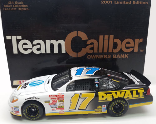 2001 Matt Kenseth NASCAR Diecast 17 ATT Broadband CWB Bank 1:24 Team Caliber Owners 1