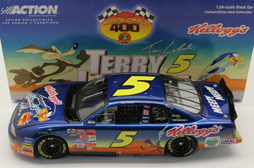 2001 Terry Labonte NASCAR Diecast 5 Looney Tunes Road Runner CWC 1:24 Action ARC 1