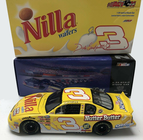 2002 Dale Earnhardt Jr NASCAR Diecast 3 Nilla Wafers Nutter Butter CWC 1:24 Action ARC 1