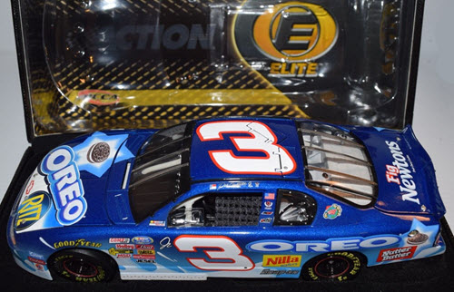 2002 Dale Earnhardt Jr NASCAR Diecast 3 Oreo Ritz CWC 1:24 Action RCCA Elite 3