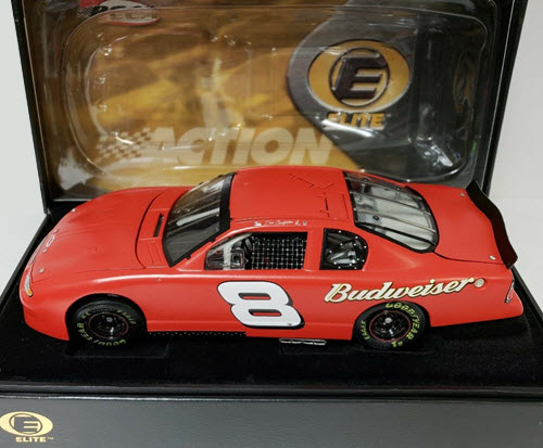 2002 Dale Earnhardt Jr NASCAR Diecast 8 Bud Budweiser Test Car CWC 1:24 Action RCCA Elite 2