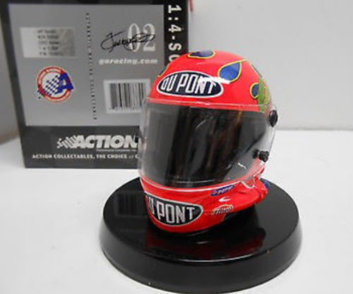 2002 Jeff Gordon NASCAR Diecast 24 DuPont Helmet 14 Action ARC 1