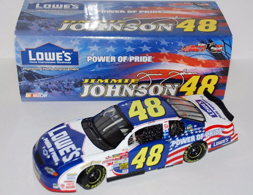 2002 Jimmie Johnson NASCAR Diecast 48 POP Power of Pride CWC 1:24 Action ARC 1