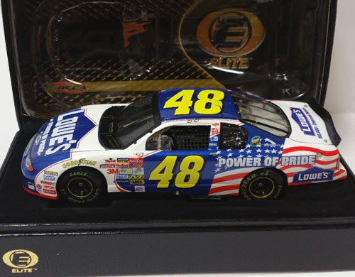 2002 Jimmie Johnson NASCAR Diecast 48 POP Power of Pride CWC 1:24 Action RCCA Elite 1b