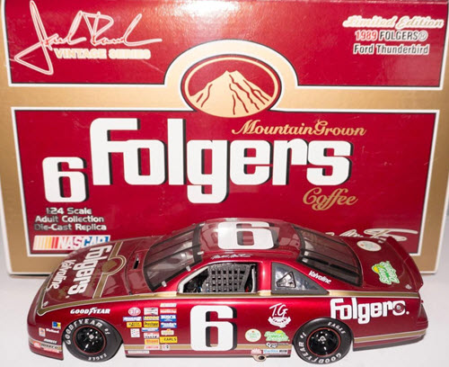 2002 Mark Martin NASCAR Diecast 6 Folgers 1989 CWC 1:24 Team Caliber Owners 1
