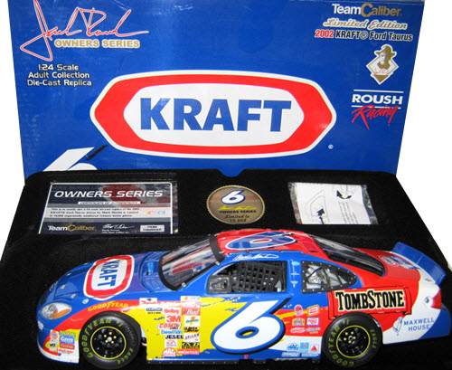 2002 Mark Martin NASCAR Diecast 6 Kraft CWC 1:24 Team Caliber Owners 1