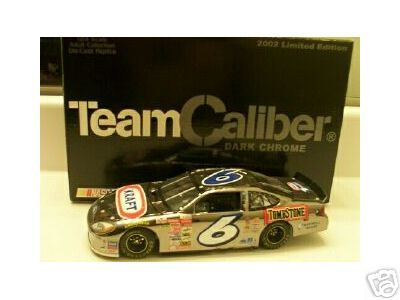 2002 Mark Martin NASCAR Diecast 6 Kraft CWC 1:24 Team Caliber Owners Dark Chrome 1