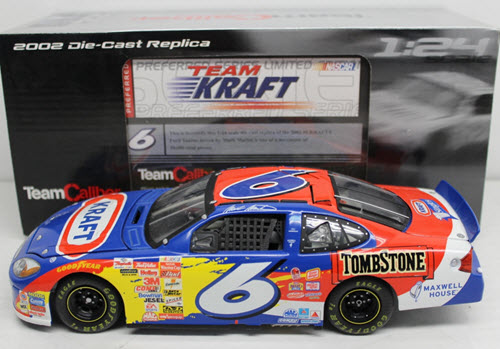 2002 Mark Martin NASCAR Diecast 6 Kraft CWC 1:24 Team Caliber Preferred 1