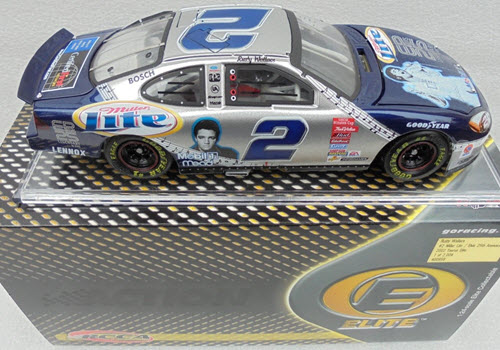2002 Rusty Wallace NASCAR Diecast 2 Elvis 25th Anniversary CWC 1:24 Action RCCA Elite 1a